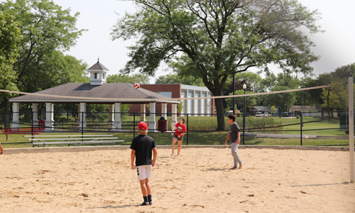 Community Park sand volleyball