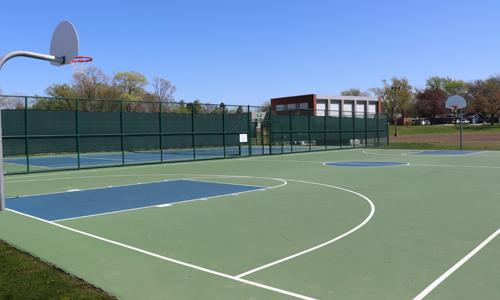 Community Park basketballCourt