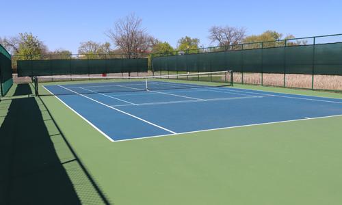 Community Park tennis court