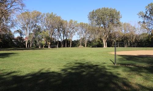 Hanrahan Park ball field