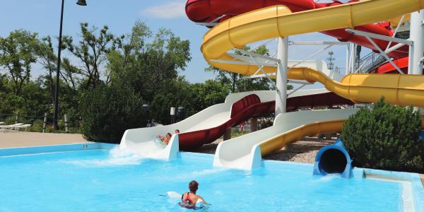 Slides at Barefoot Bay