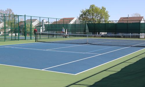 Scott Brown Park tennis court