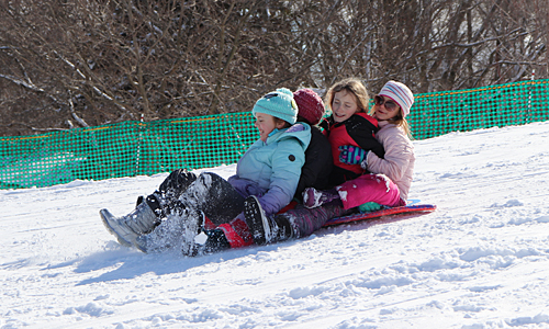 Community Park sled hill
