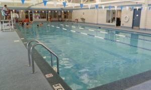indoor pool at Mundelein Community Center
