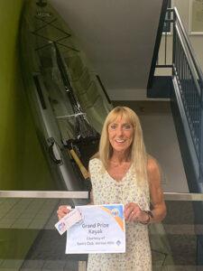 Winner of Kayak
