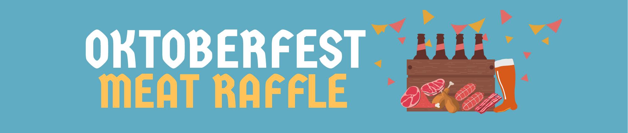 Oktoberfest Meat raffle graphic